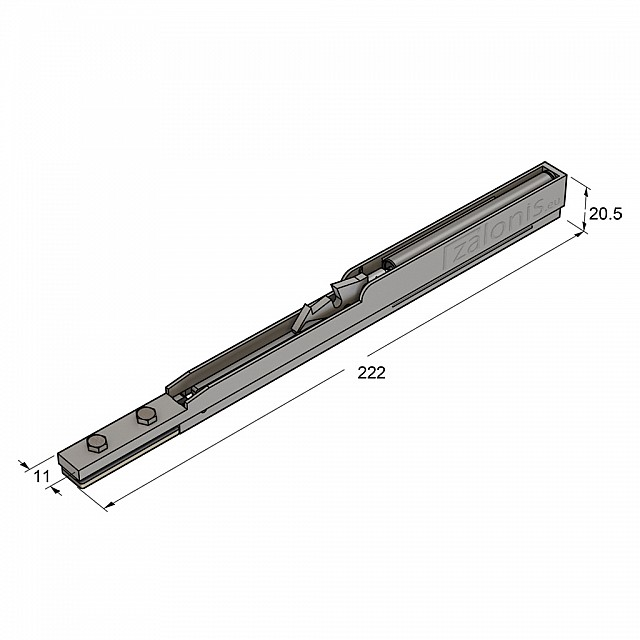 J6 BRAKE FOR FURNITURE SLIDING DOOR
